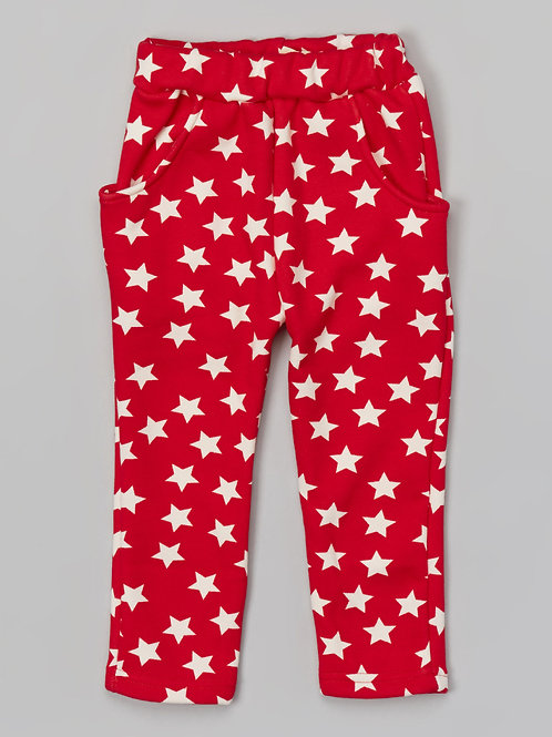 Red Star Harem Pants -R