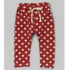 Red Polka Dot Harem Pants -R