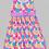 Thumbnail: Pink Polka Dot Dress -R