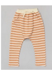 Rust Stripe Harem Pants - R