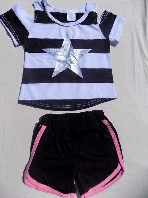 Black Silver Star - R