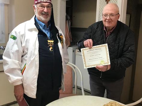 Honoured Lifetime Membership Award
