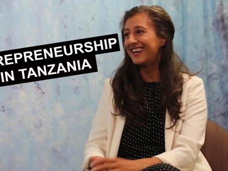 Krupa Patel: Entrepreneurship in Tanzania