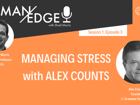 S1:E3 Managing Stress with Alex Counts