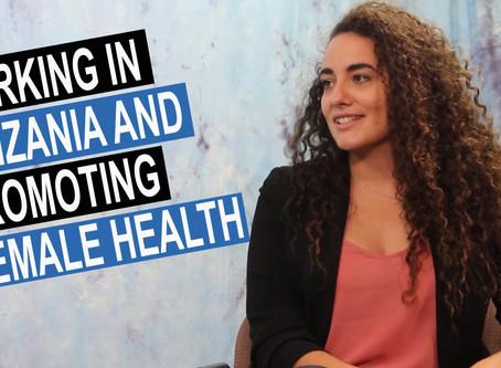 Sabrina Rubli: Working in Tanzania and Promoting Female Health