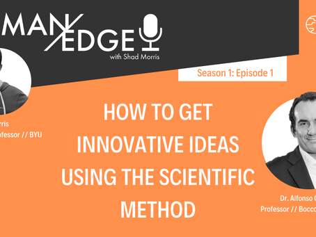 S1:E1 How to Get Innovative Ideas Using the Scientific Method with Alfonso Gambardella