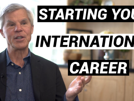Starting Your International Career with Mike Hoer