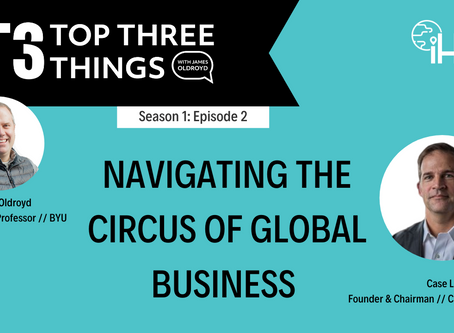S1:E2 Navigating the Circus of Global Business With Case Lawrence