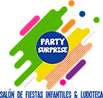 Salón de Fiestas Infantil Party Surprise Logo