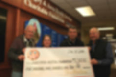 Digby Hospital Tim Hortons Donation