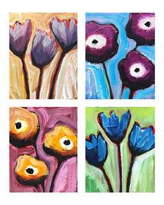 May Flowers I-IV
