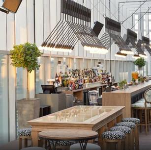 Iris Dubai - панорамный ресторан в The Oberoi Dubai