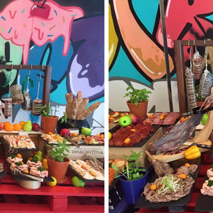 """Street Art Brunch"" - фестиваль уличной еды в ресторане Nine7One в The Oberoi Dubai по пят"