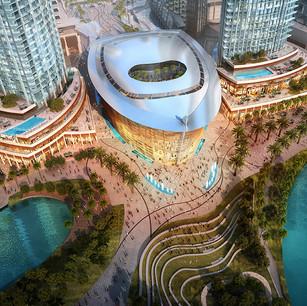 Недалеко от The Oberoi Dubai в сентябре 2016 откроется Дубайская опера