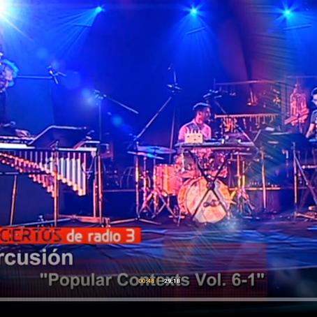 NEOPERCUSION at Spanish National TV