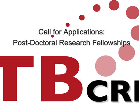 Call for Applications: TB-CRE Post-Doctoral Research Fellowships