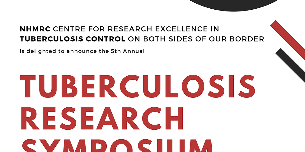 TB CRE Annual TB Research Symposium Online Event