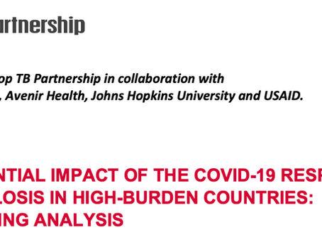 Modelling shows devastating impact of COVID-19 on TB