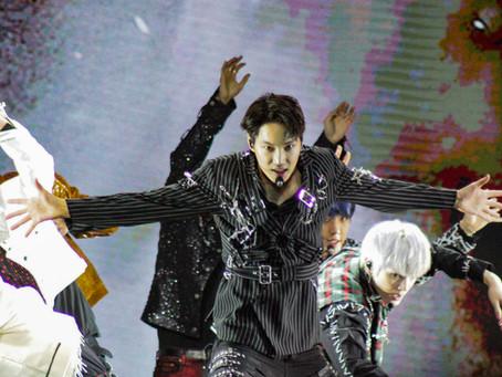 SuperM Showcase Their Power at Viejas Arena