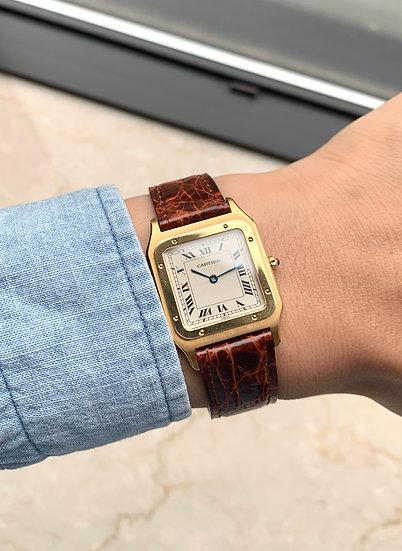 Cartier Santos Dumont YG 1990's