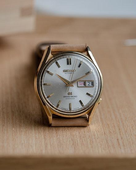 Grand Seiko 6246-9001 in cap gold July 1967