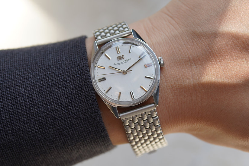 IWC Caliber 89 stainless steel 1960's