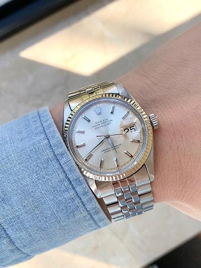 Rolex 1601 Datejust Silver alpha hands