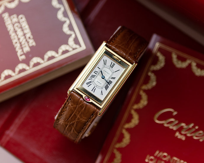 Cartier Tank Basculante - I Love Cartier 150th Anniversary - Limited edition 150