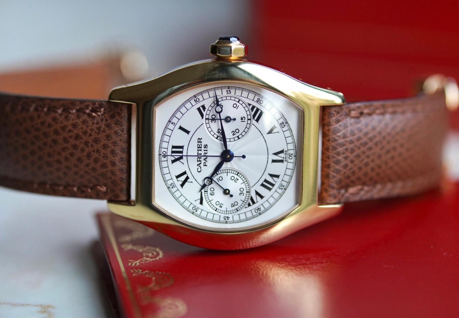 Cartier CPCP Tortue Monopusher