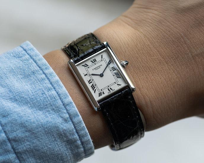 Cartier Tank Louis in platinum CPCP