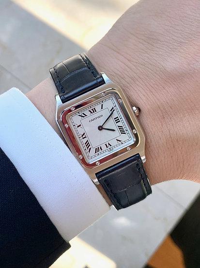 Cartier Santos Dumont in Platinum
