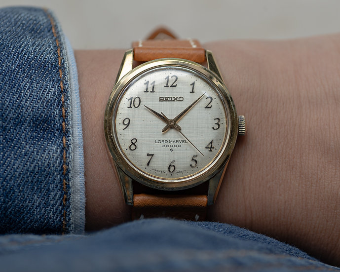 Lord Marvel Hi Beat with Arabic numerals and SGP case