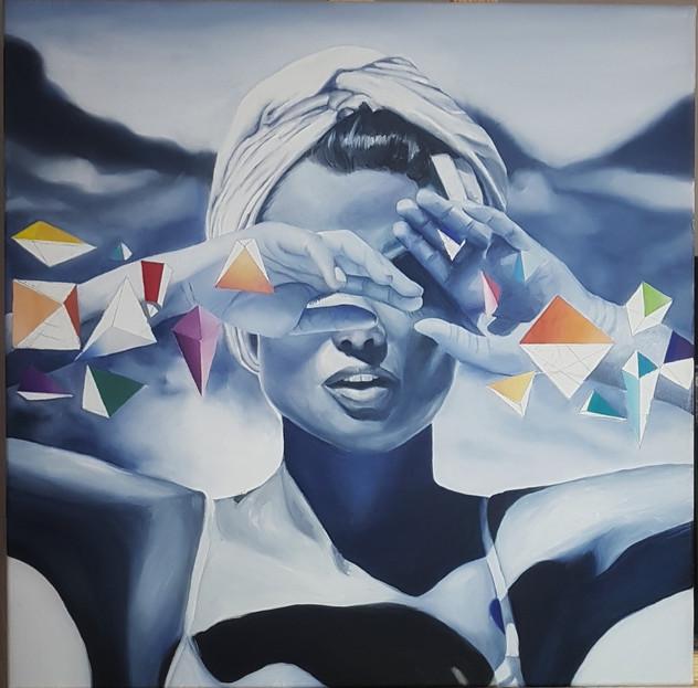 Oil painting - Paolambina