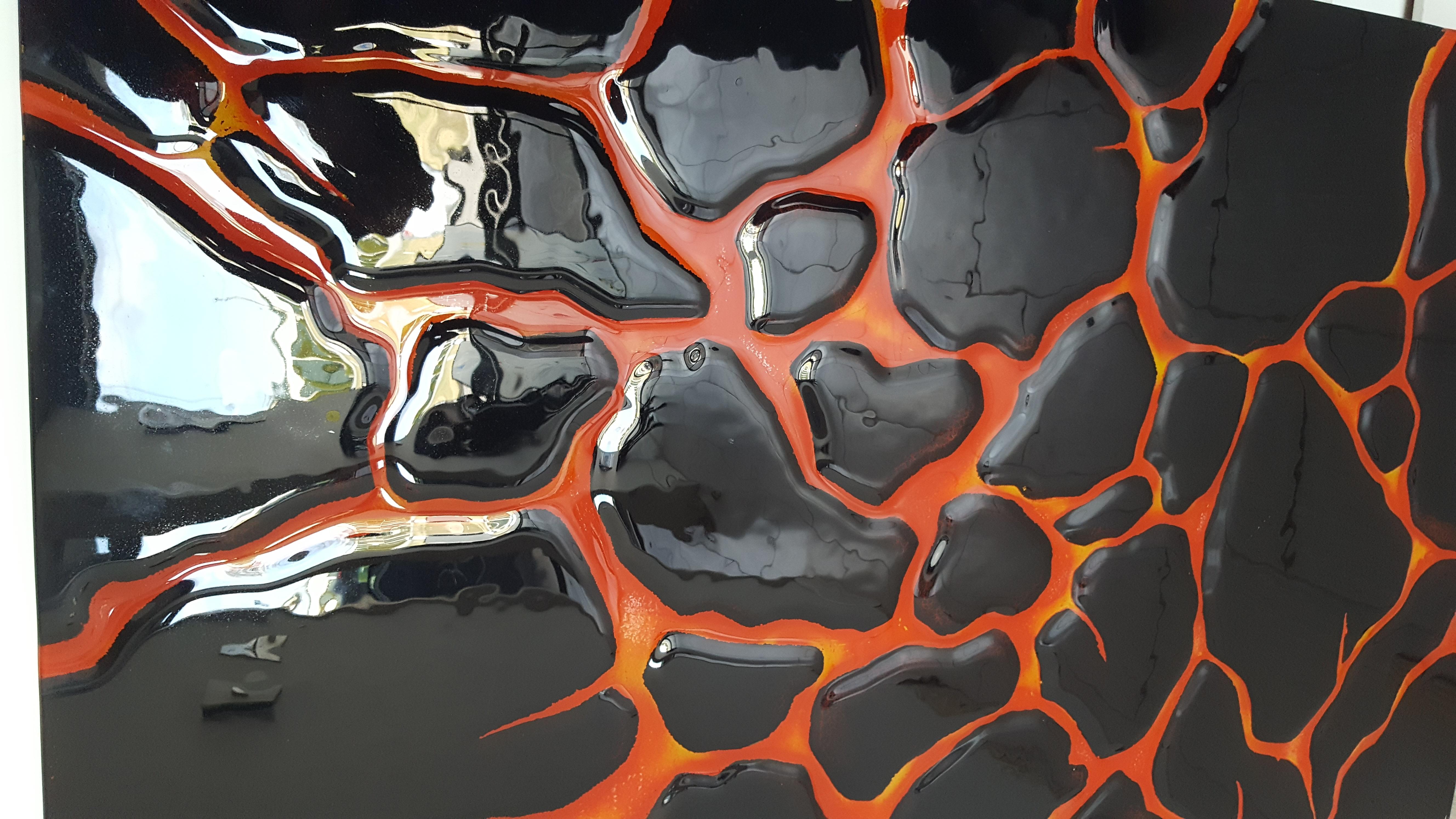Cast glass for backsplash