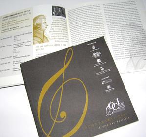 """Libretto Stagione """"Orchestra Camerata dei Laghi"""" 2006"""