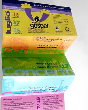"Programma ""Varese Gospel Festival"" 2005"