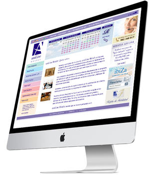 "Web Design ""Azuline Hotels"" 2005"