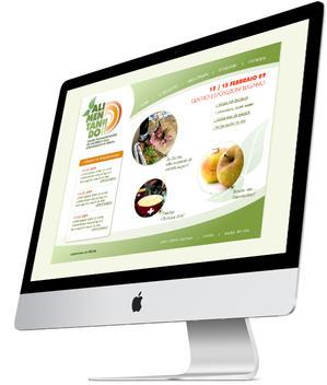"""Web design """"Alimentando"""" 2009"""