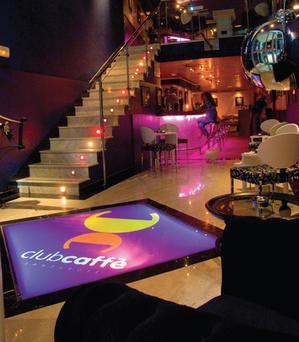 """Marchio""""Club Caffé""""  Locale a Lanzarote"""