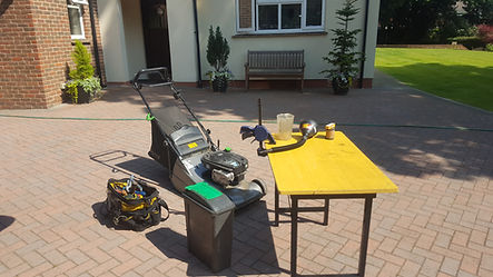 Mobile lawnmower service & lawnmower repairs