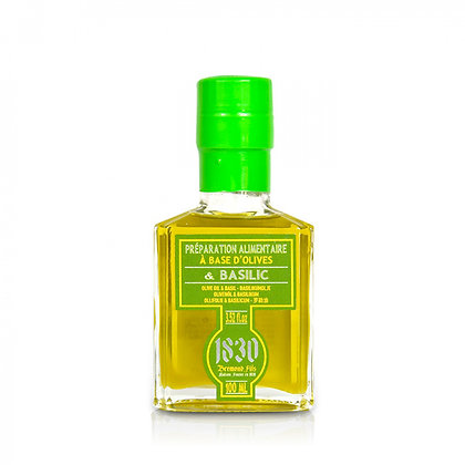 Maison Brémond - Huile d'olive Vierge Extra - Basilic
