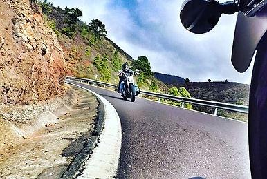 Discover Los Gigantes on a Harley Davidson #canaryislandsrides