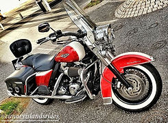 Harley Davidson Road King Canary Islands Rides Tenerife Rental & Tours
