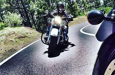 Tenerife/Arona/Teide/La Esperenza/ Harley Davidson