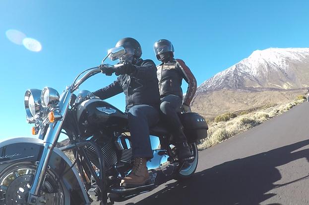 Discover tenerife on a Harley Davidson-Tenariffa Harleyverleih