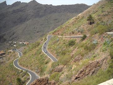 Tenerife/Masca On Harley Davidson