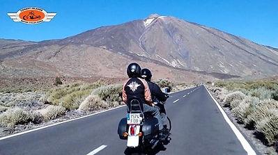 Tenerife/Teide On Harley Davidson
