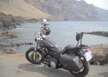 Harley Davidson Dyna Street Bob Canary Islands Rides Tenerife Rental & Tours