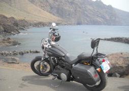 Punta Teno Harley Davidson Dyna Street Bob Canary Islands Rides Tenerife Rental & Tours #canaryislandsrides