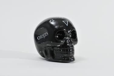 """Crystal skull """"Black"""""""